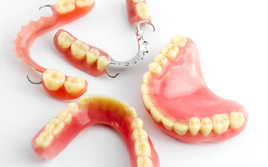Variety of denture options